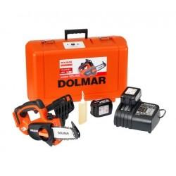Dolmar motosega a batteria 18v